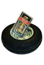 """Malone Auto Rack Malone Spare Tire for XtraLight Trailer - 8"""" Galvanized - w/ Locking Attachment"""