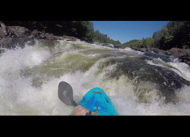 Whitewater kayak