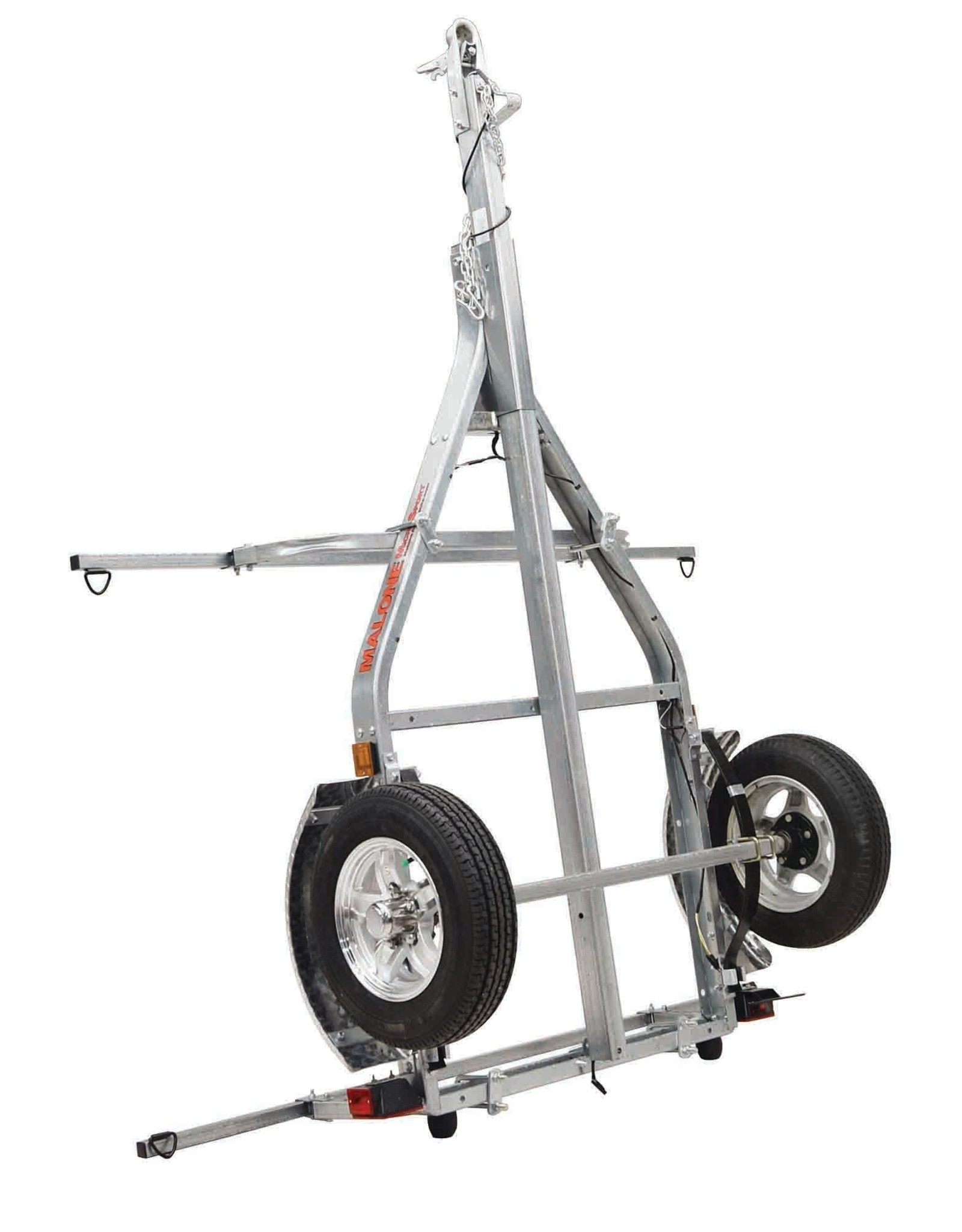 Malone Auto Rack Malone MicroSport™XT Trailer with Aluminum Wheels and Retractable Tongue Kit