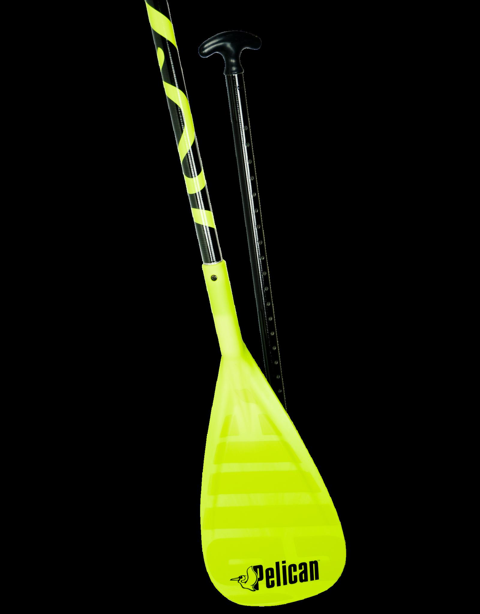 Pelican Pelican Adjustable Vate SUP Paddle in Yellow/green 178-221 cm