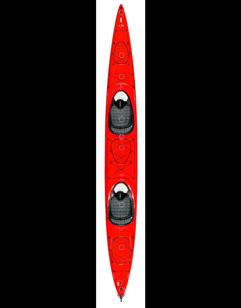 Delta Delta kayak Traverse 20T with rudder Red