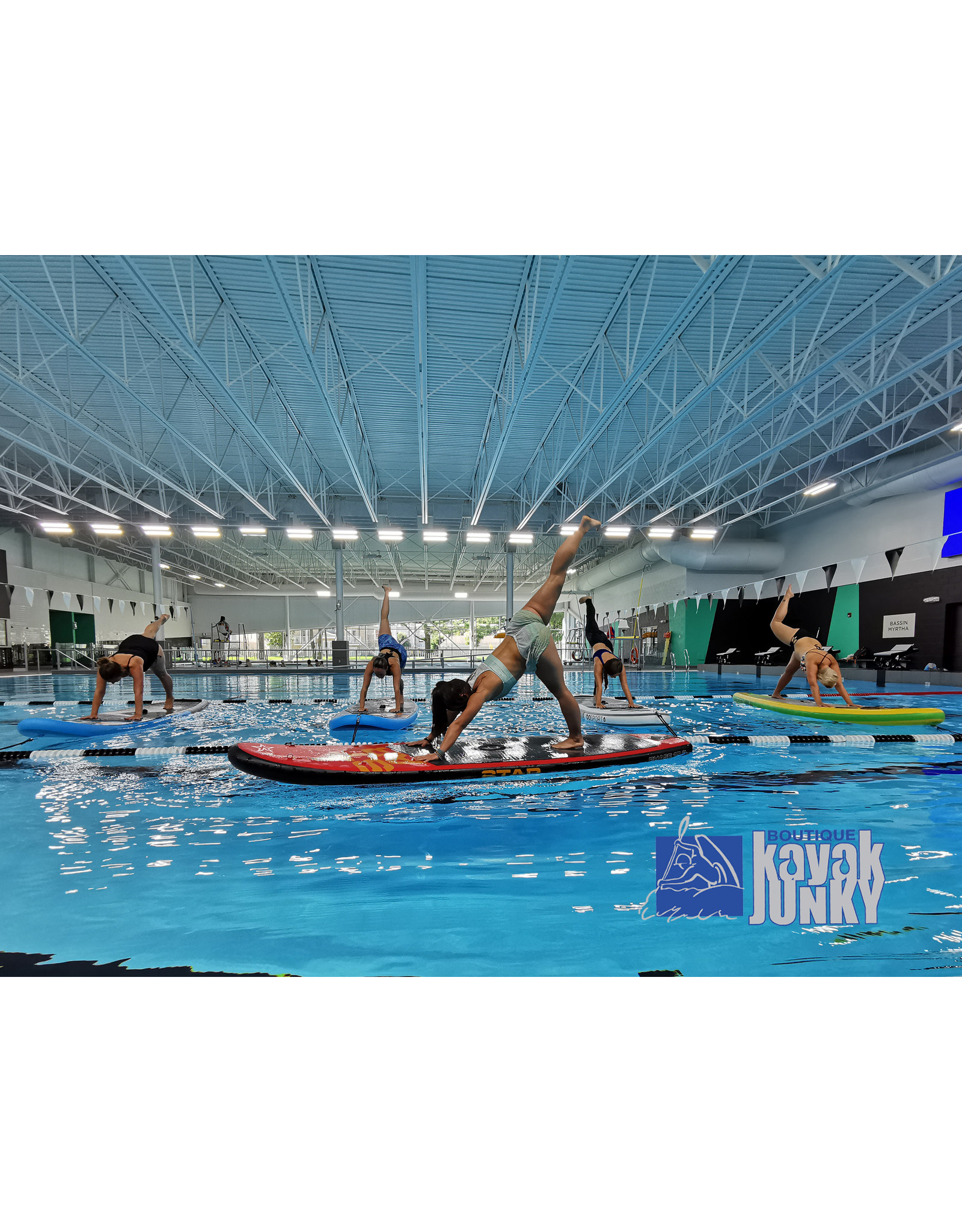 Kayak Junky Junky Session de 5 cours SUP (fitness & yoga) dimanche 8 mars