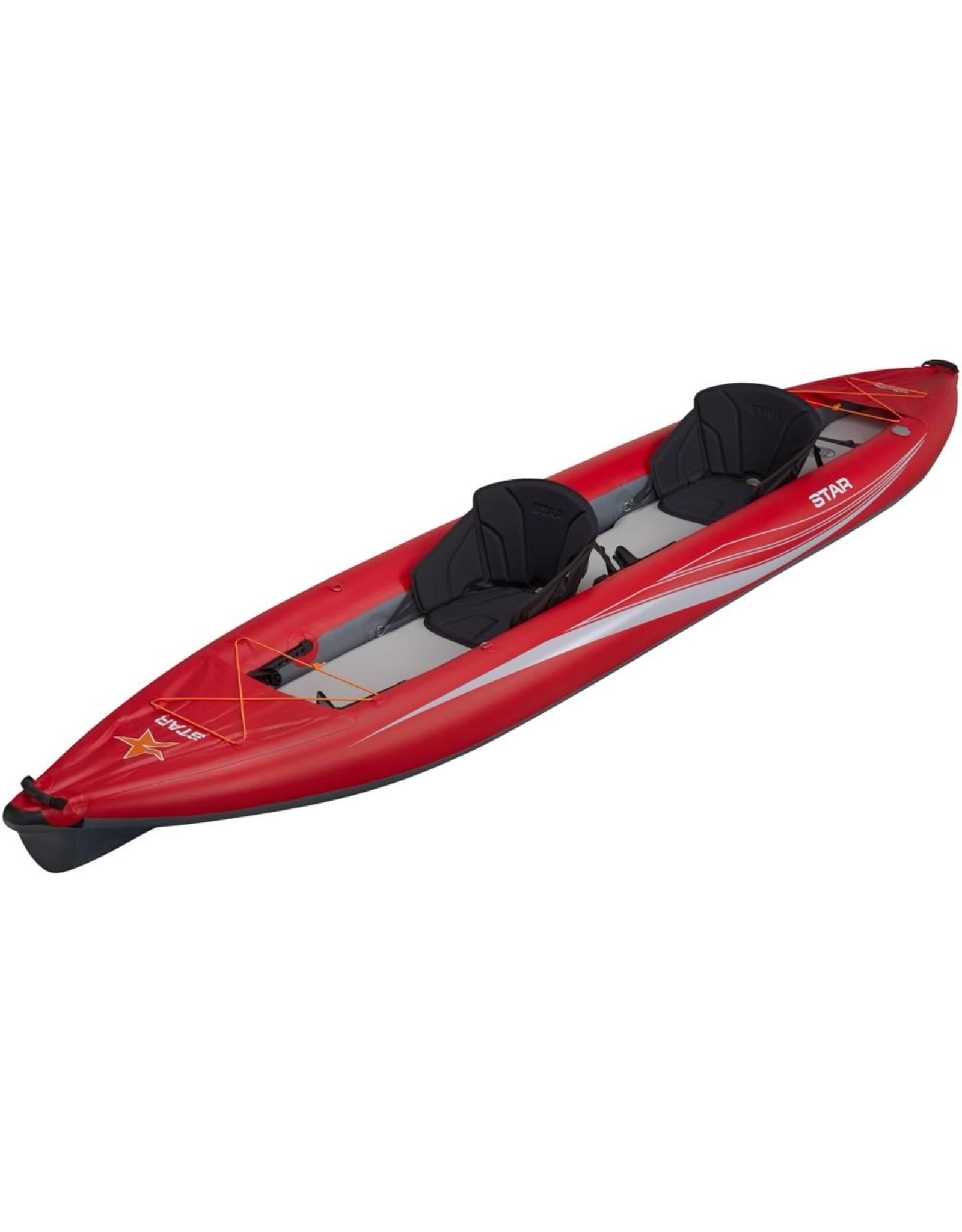 Star Star kayak Paragon Tandem gonflable rouge 2020