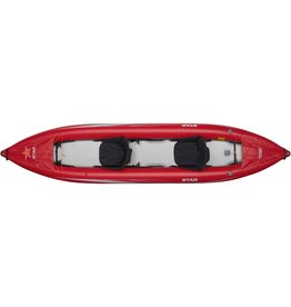 Star Star kayak Paragon Tandem gonflable rouge