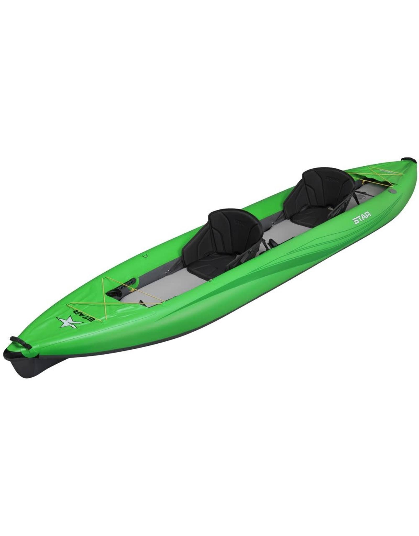 Star Star kayak Paragon Tandem gonflable vert 2020