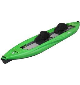 Star Star kayak Paragon Tandem gonflable vert