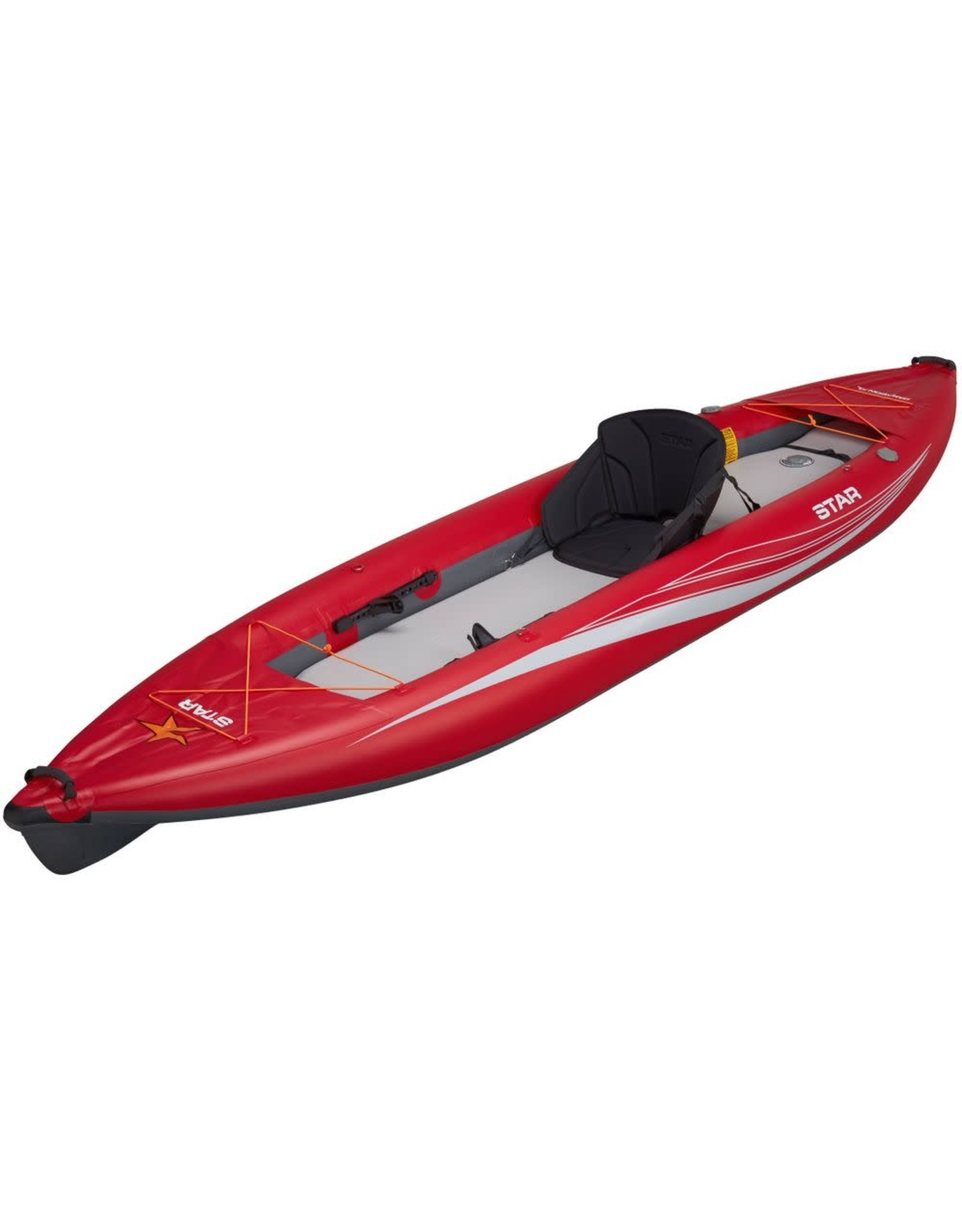 Star Star kayak Paragon gonflable XL rouge