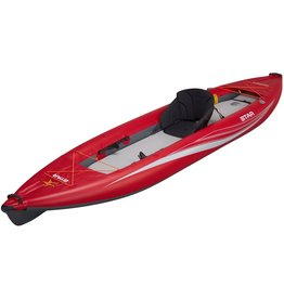 Star Star kayak Paragon XL gonflable Rouge avec cale pied
