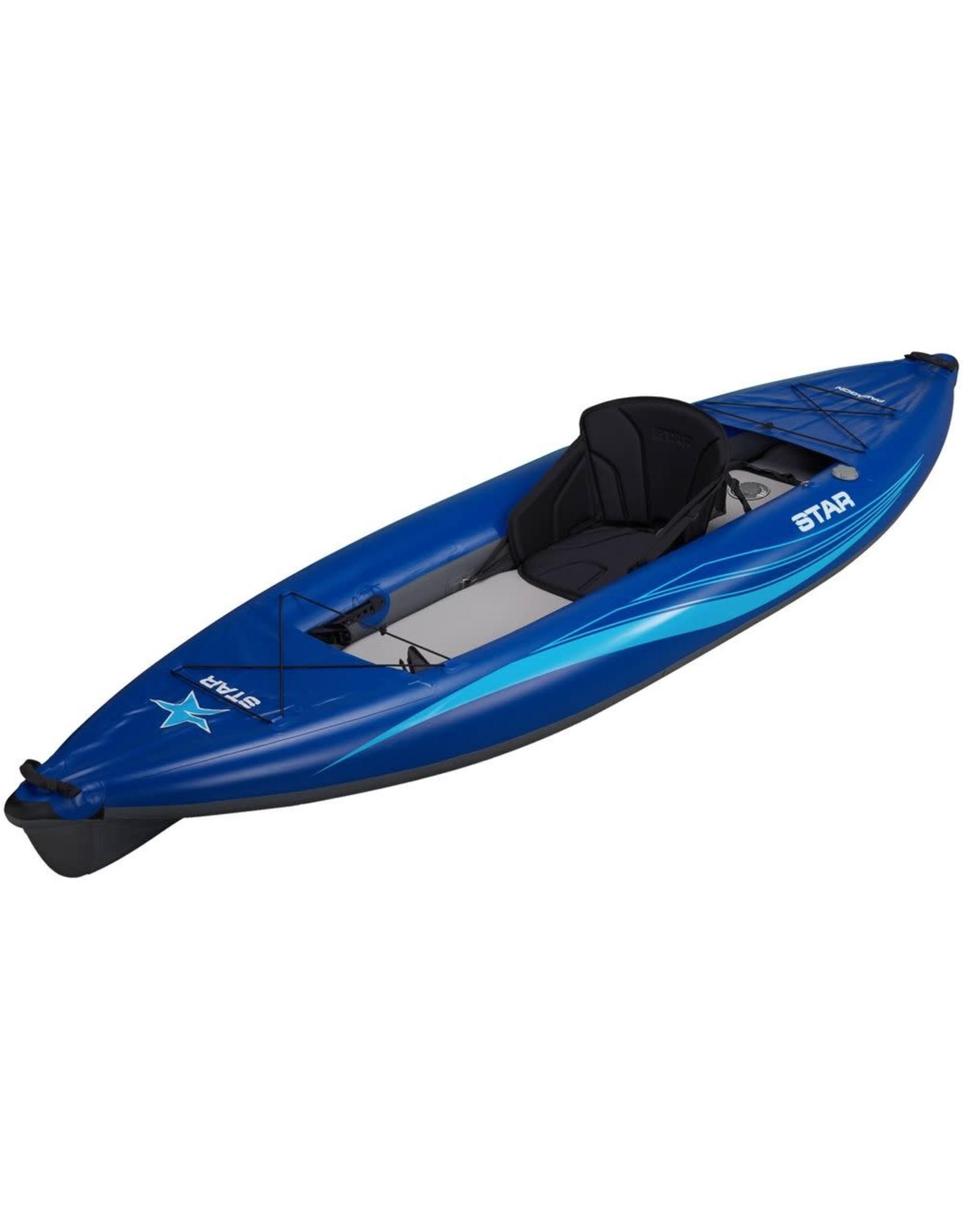Star Star kayak Paragon gonflable bleu