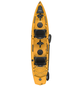 Hobie Hobie kayak Compass Duo MirageDrive Kick-Up Fin Papaya