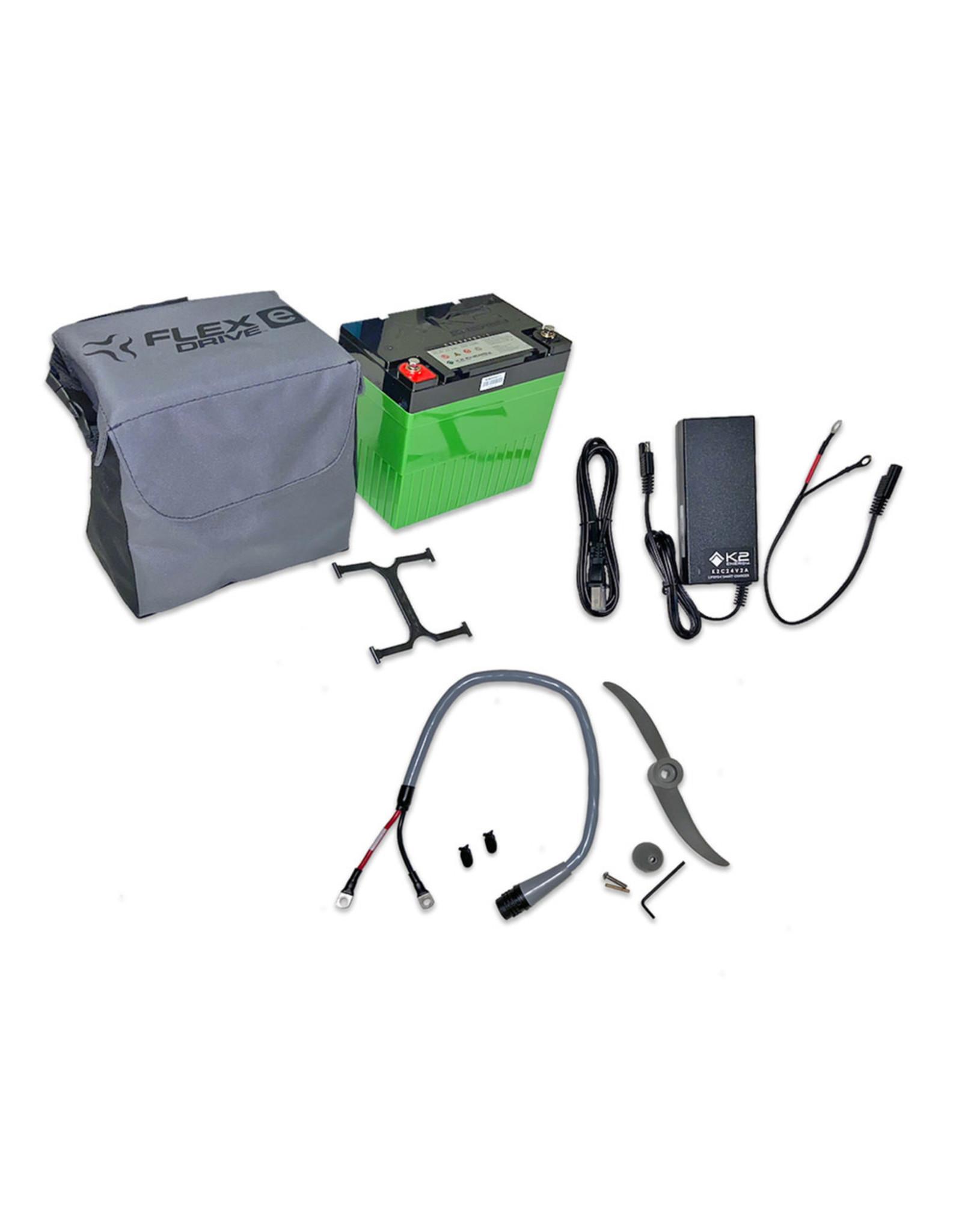 Jackson Kayaks Jackson 22AH K2 lithium Battery and Case Package
