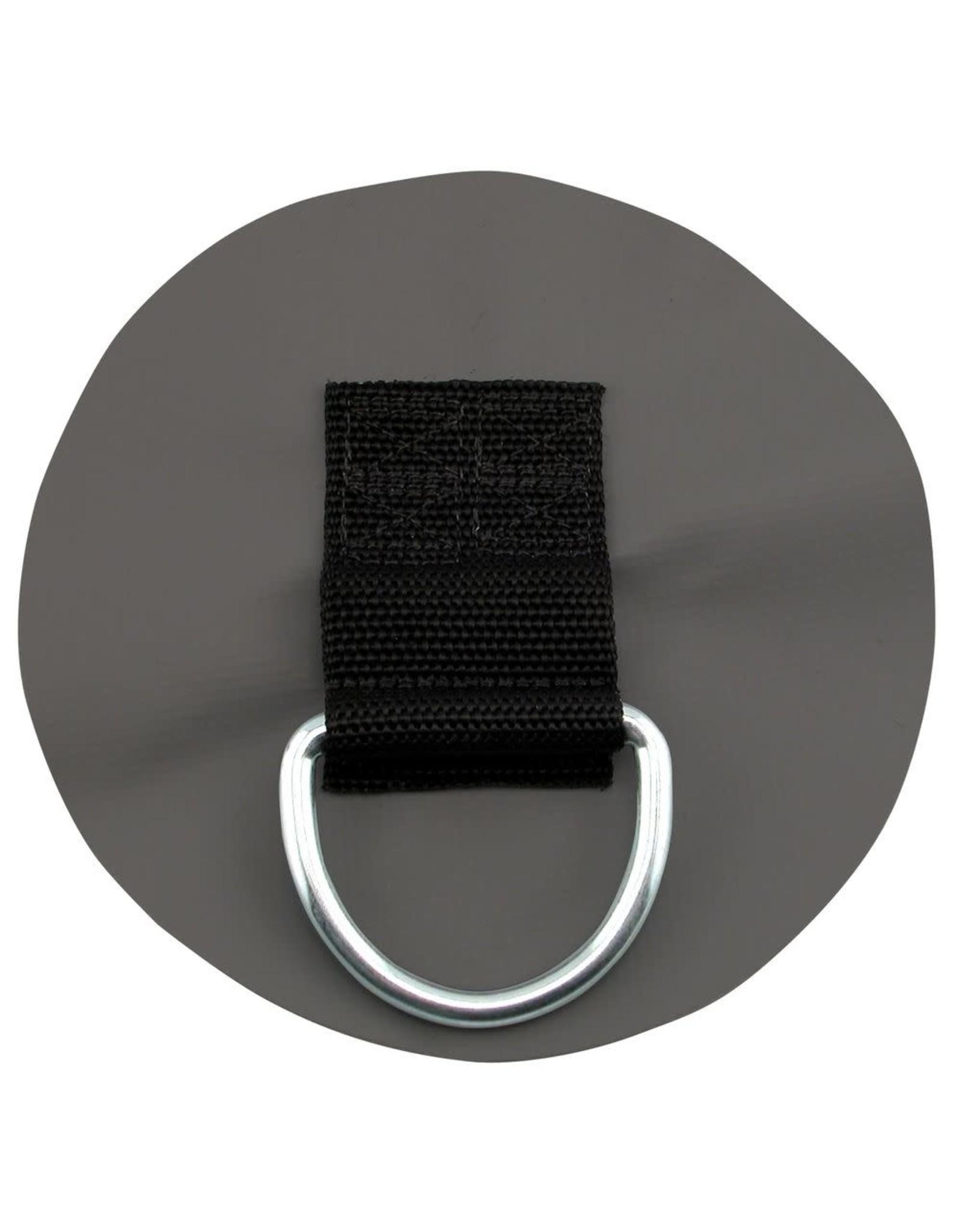 NRS NRS Acc. ancrage PVC anneau en D gris