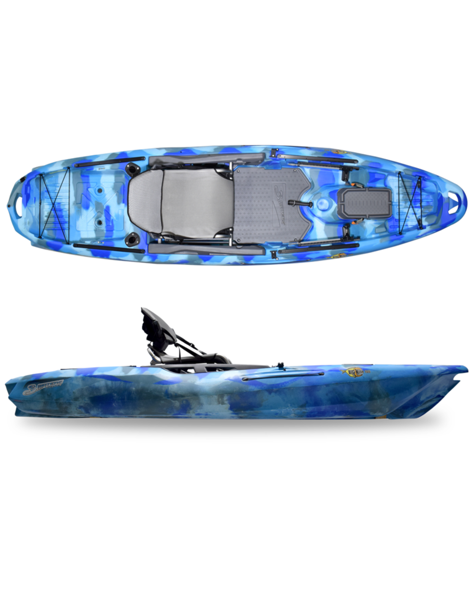 3 Waters Kayaks 3 Waters kayak Big Fish 105