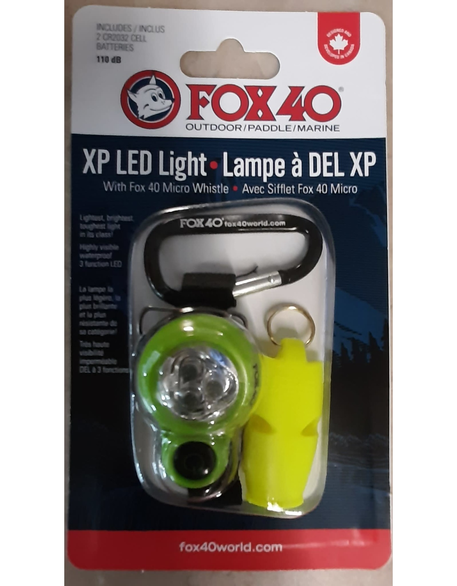 Fox Fox 40 Lumière Xplorer LED & Sifflet