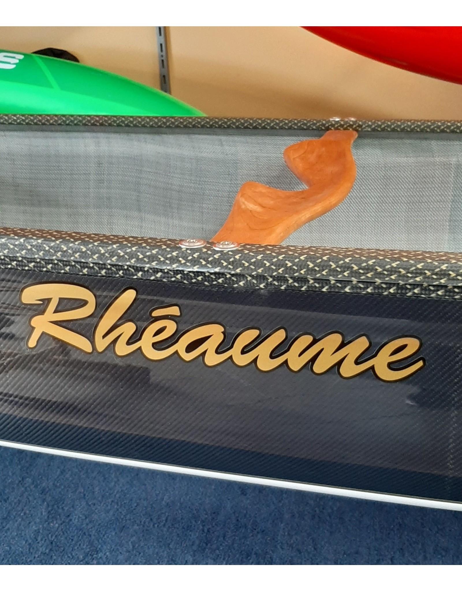Canots Rhéaume Rhéaume Explorer Canoe 16' (Innegra Carbon / Basalt) integrated gunwales