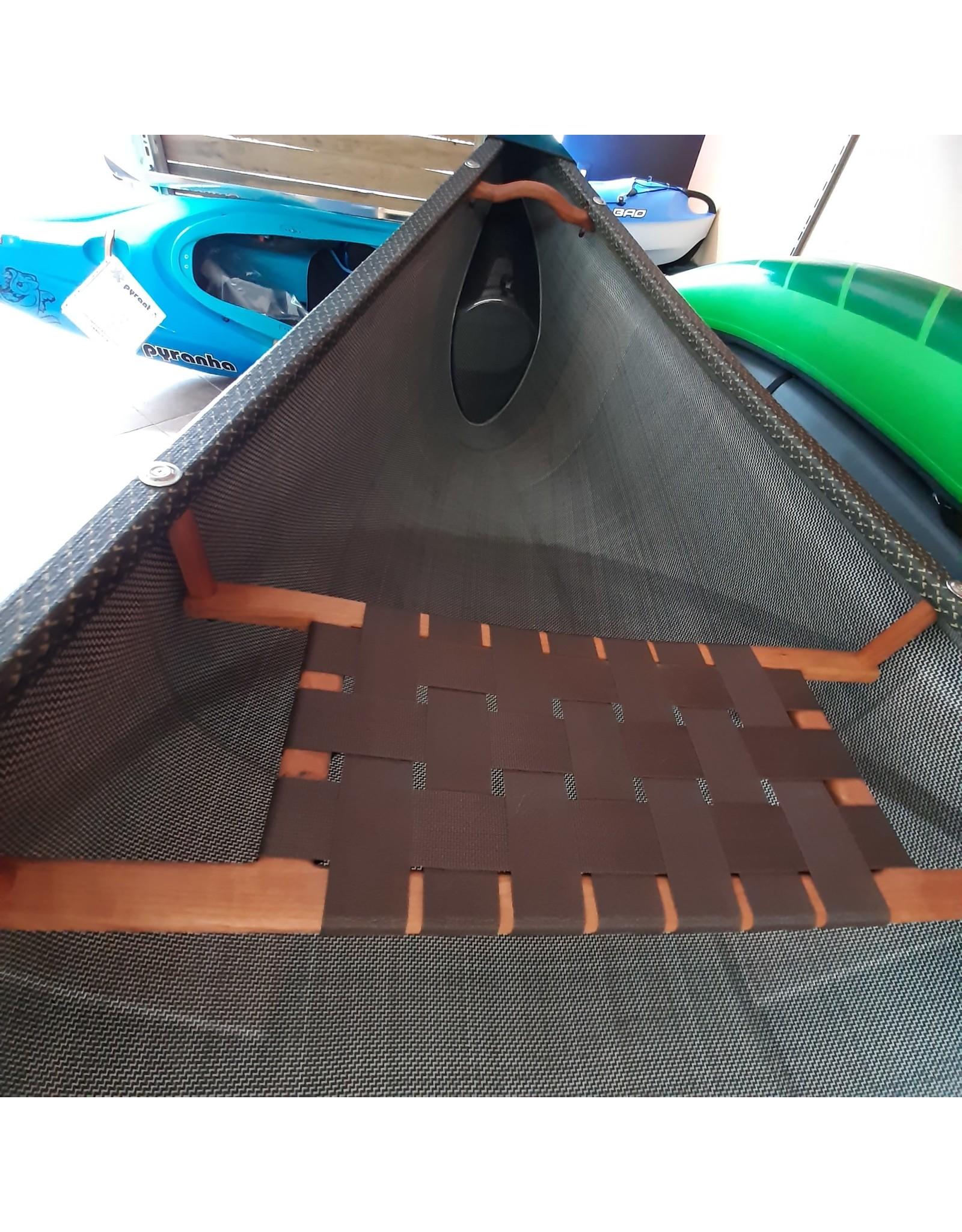 Canots Rhéaume Rhéaume Canot Explorer 16' Carbone (Innegra/Basalt) plats-bords intégrés