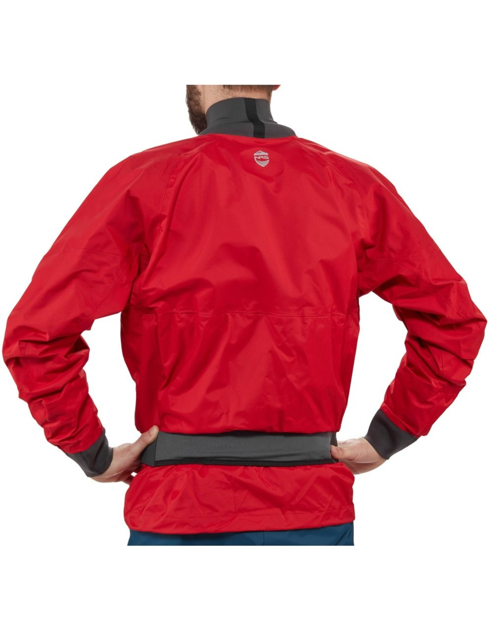 NRS NRS Anorak Stratos Rouge (Salsa) manches longues