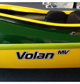 P&H Custom Sea Kayaks P&H kayak Volan MV LIGHTWEIGHT Kevlar / Carbon infused with Kevlar keel protector Green / LIme / Yellow