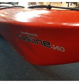 Old Town Old Town kayak Castine Black Cherry 140 (USAGÉ)