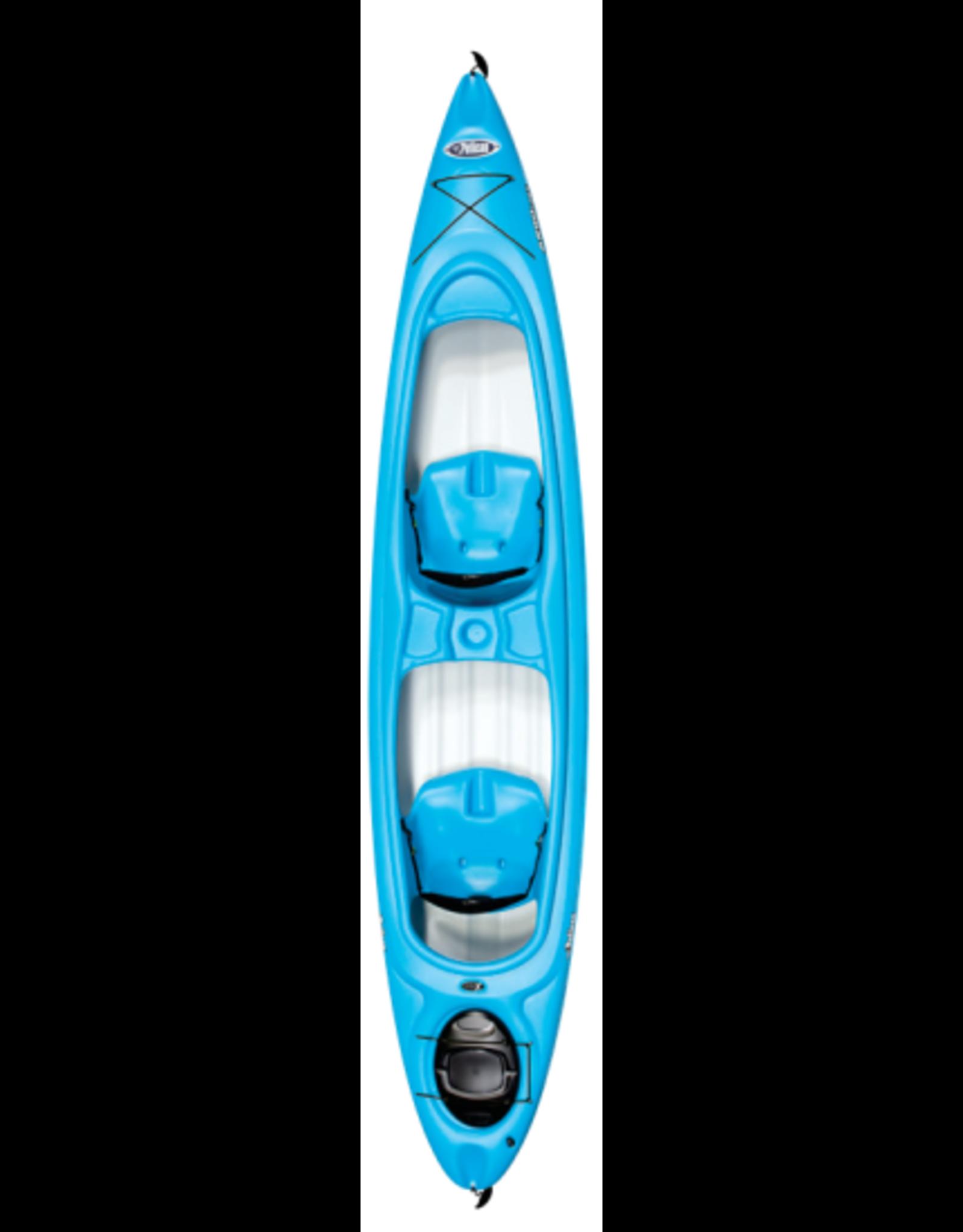 Pelican Pelican kayak Argo 136X Tandem Cyan/blanc