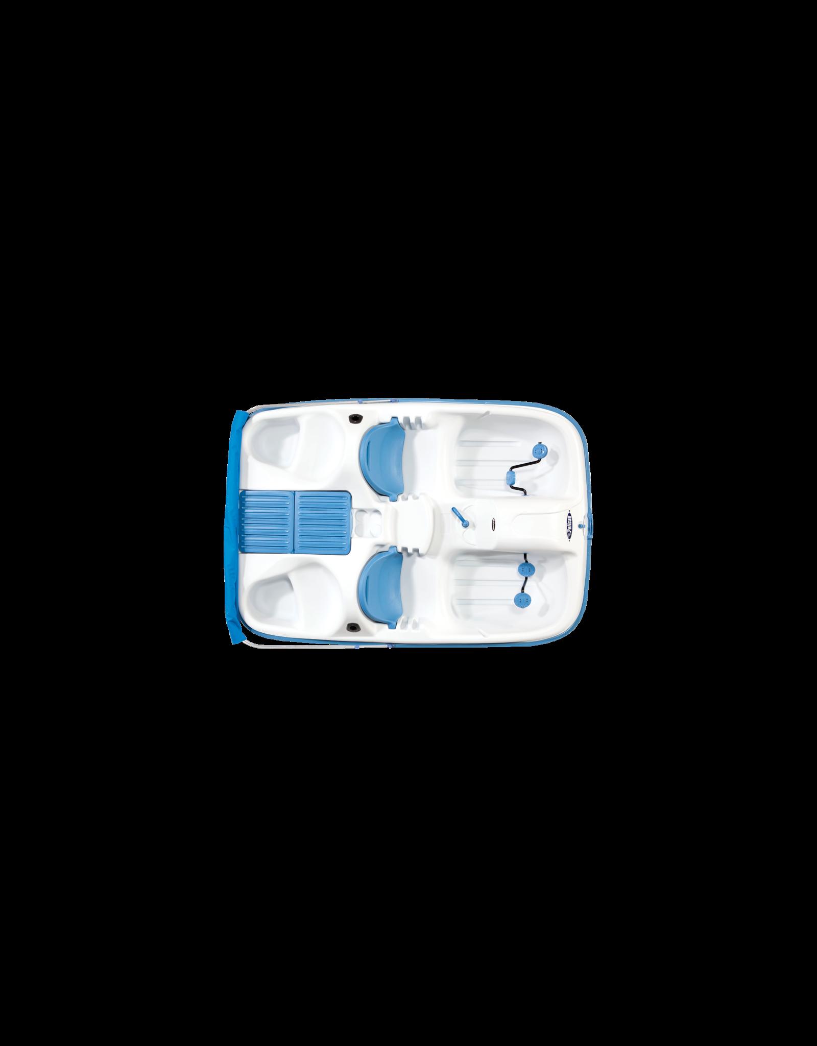 Pelican Pelican Monaco DLX Angler Pedal Boat White/Lime