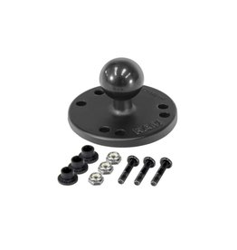 Ram Mounts Jackson RAM Round Plate 2.5'' with Ball 1''
