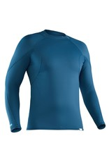 NRS NRS Men's H2Core Rashguard Long-Sleeve Shirt Moroccan Blue SMALL (LIQUIDATION)