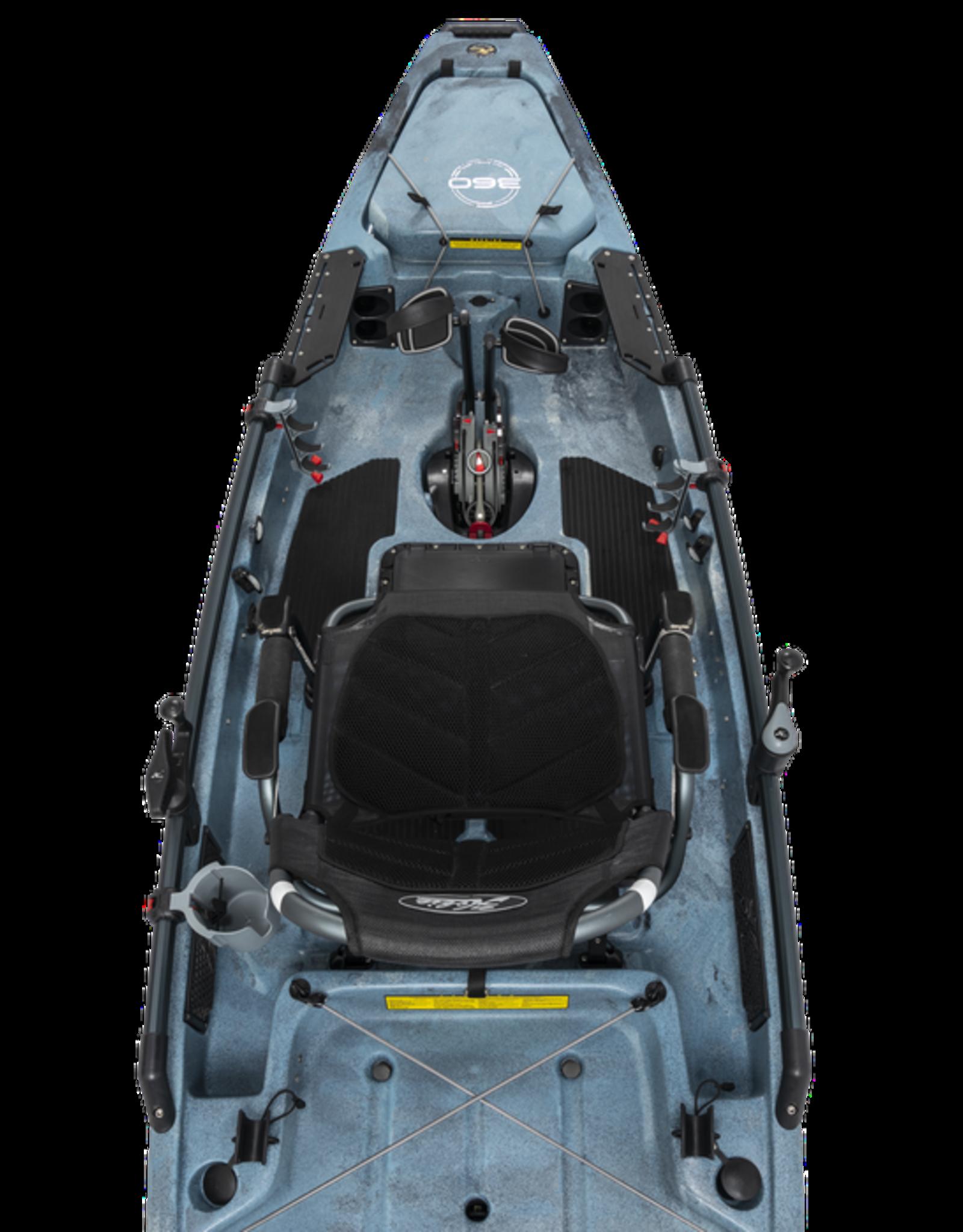 Hobie Hobie kayak Pro Angler 12 MirageDrive 360 Kick-Up Fin