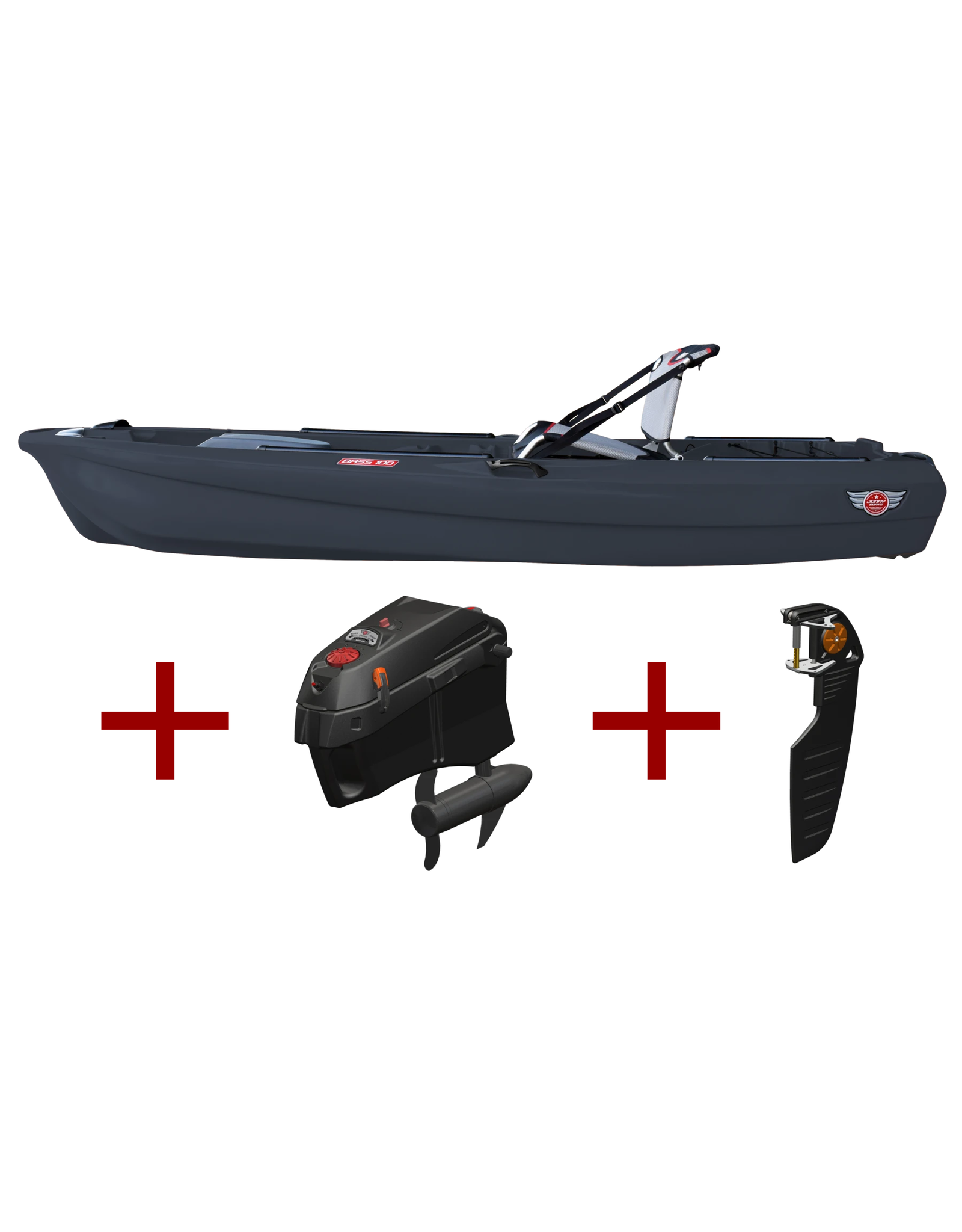 Jonny Boats Jonny Boat Bass 100 - Moteur - with Electric Motor Package
