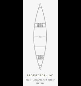 Scott Canot Scott Canoe Prospector 16 Kevlar Magtogoek Green/White/black