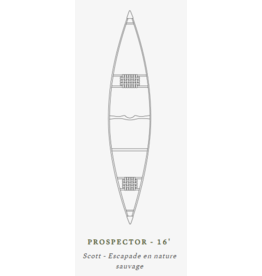 Scott Canot Scott Canoe Prospector 16 Fibre Blue