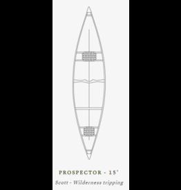 Scott Canot Scott Canoe Prospector 15 Kevlard Magtogoek White/Blue/Black