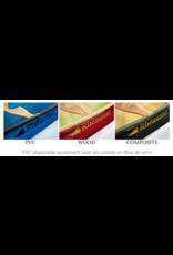 Canots Rhéaume Rhéaume Canoe Prospecteur 15' FG Bleu-Clear PVC Gunwale
