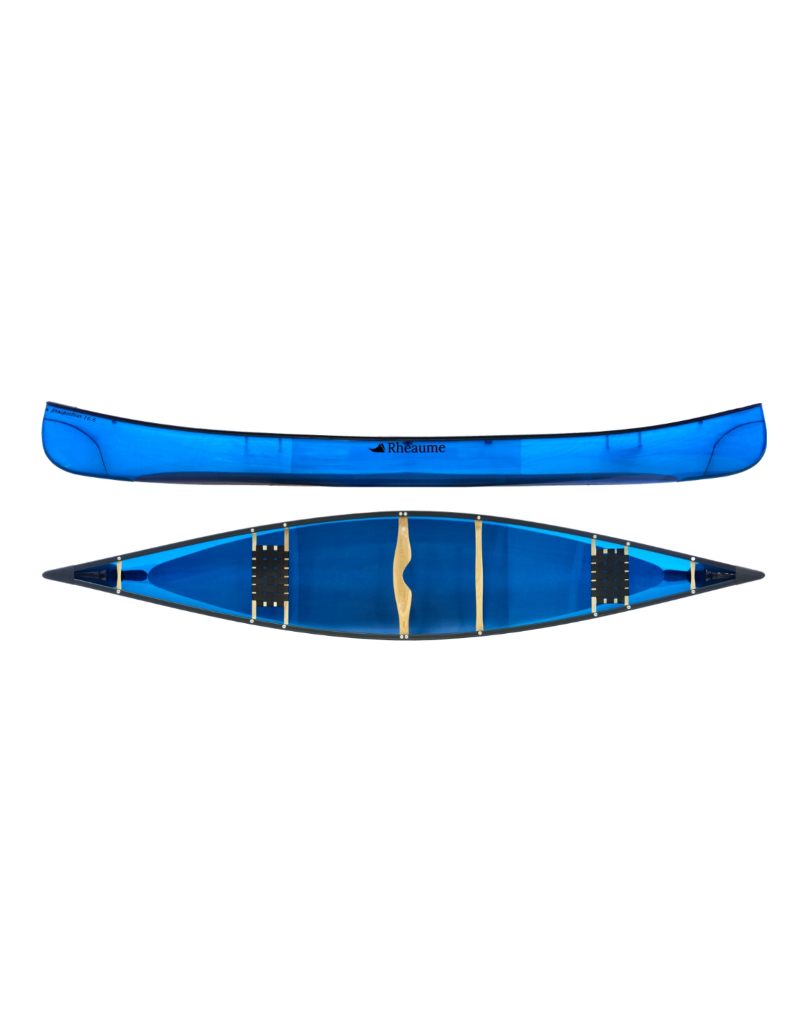 Canots Rhéaume Rhéaume Canoe Prospecteur 16'6'' FG white  PVC Gunwale