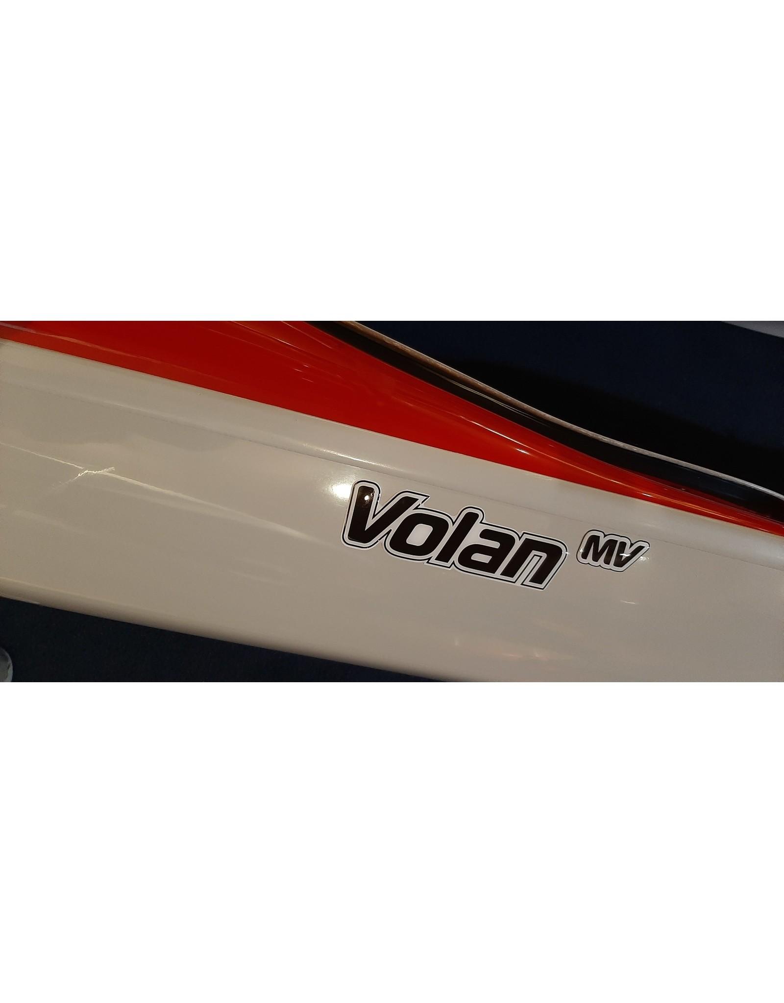 P&H Custom Sea Kayaks P&H kayak Volan MV Performance Kevlar/Diolen rouge/lime/gris pâle