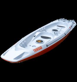 Tahe Marine Tahe Marine Kayak Trinidad Tandem gray/orange