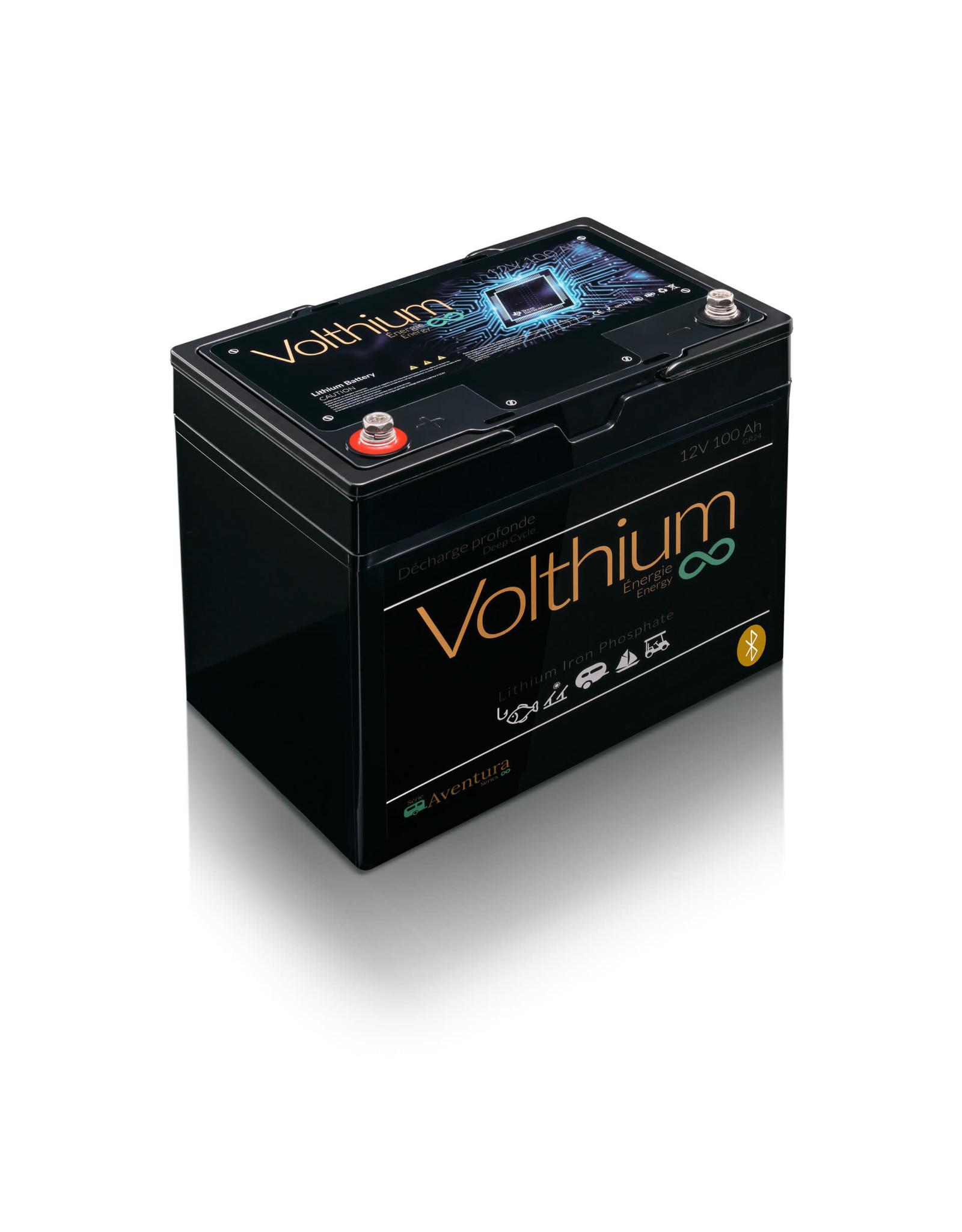 Volthium Volthium battery Aventura Bluetooth Lithium 12v 100Ah