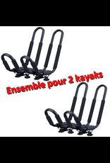 Yanes Yanes Support en J (DUO) pour 2 kayaks