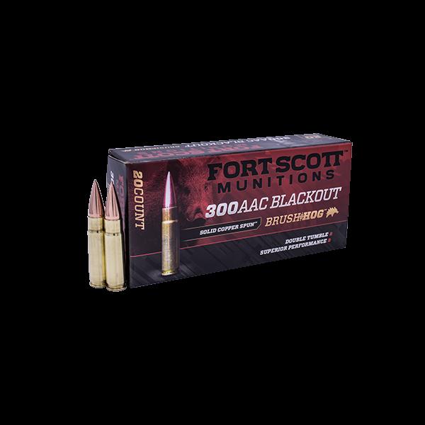 Fort Scott 300 Blackout 115 gr. SCS® TUI™ - 115Gr- Ammo