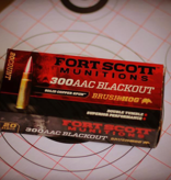 Fort Scott Munitions 300 Blackout SCS® TUI™ - 115Gr Rifle Ammo/Bulk Ammo
