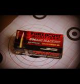 Fort Scott Munitions Fort Scott 300 Blackout 115 gr. SCS® TUI™ - 115Gr- Ammo