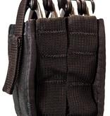 High Speed Gear Duty Double Handcuff TACO U-MOUNT Black