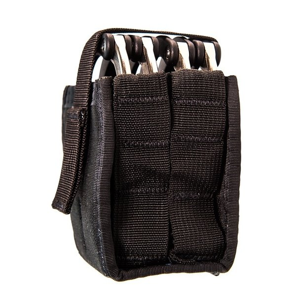 Duty Double Handcuff TACO U-MOUNT Black