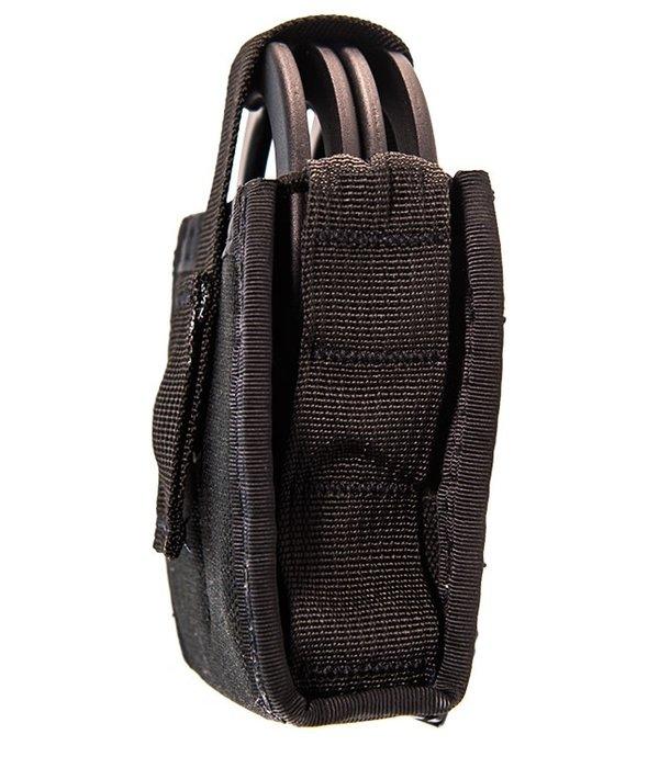 High Speed Gear Duty Single Handcuff TACO U-MOUNT Black