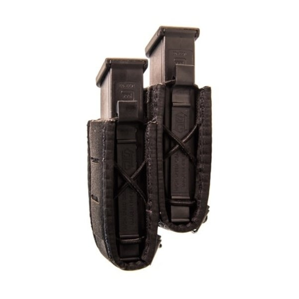 Duty Staggered Double Pistol TACO U-MOUNT Black