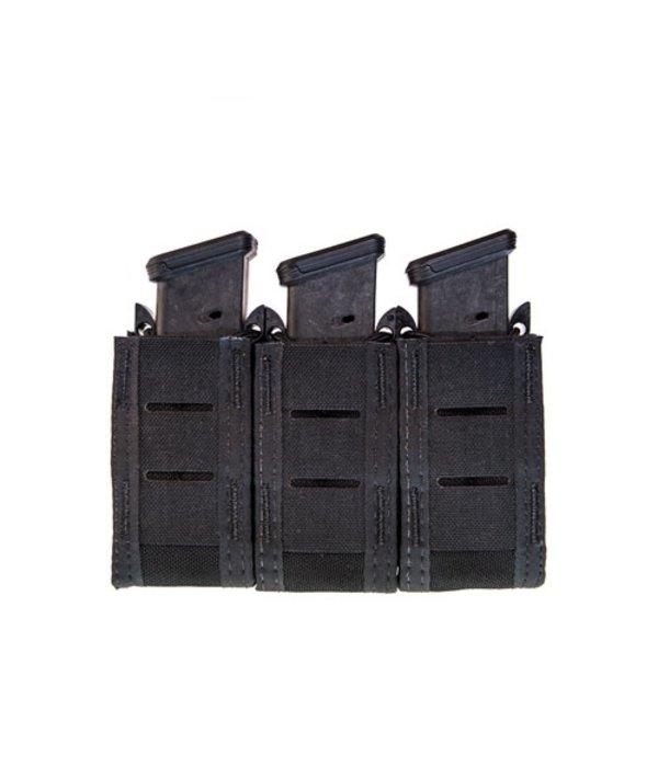 High Speed Gear Duty Triple Pistol TACO U-MOUNT Black
