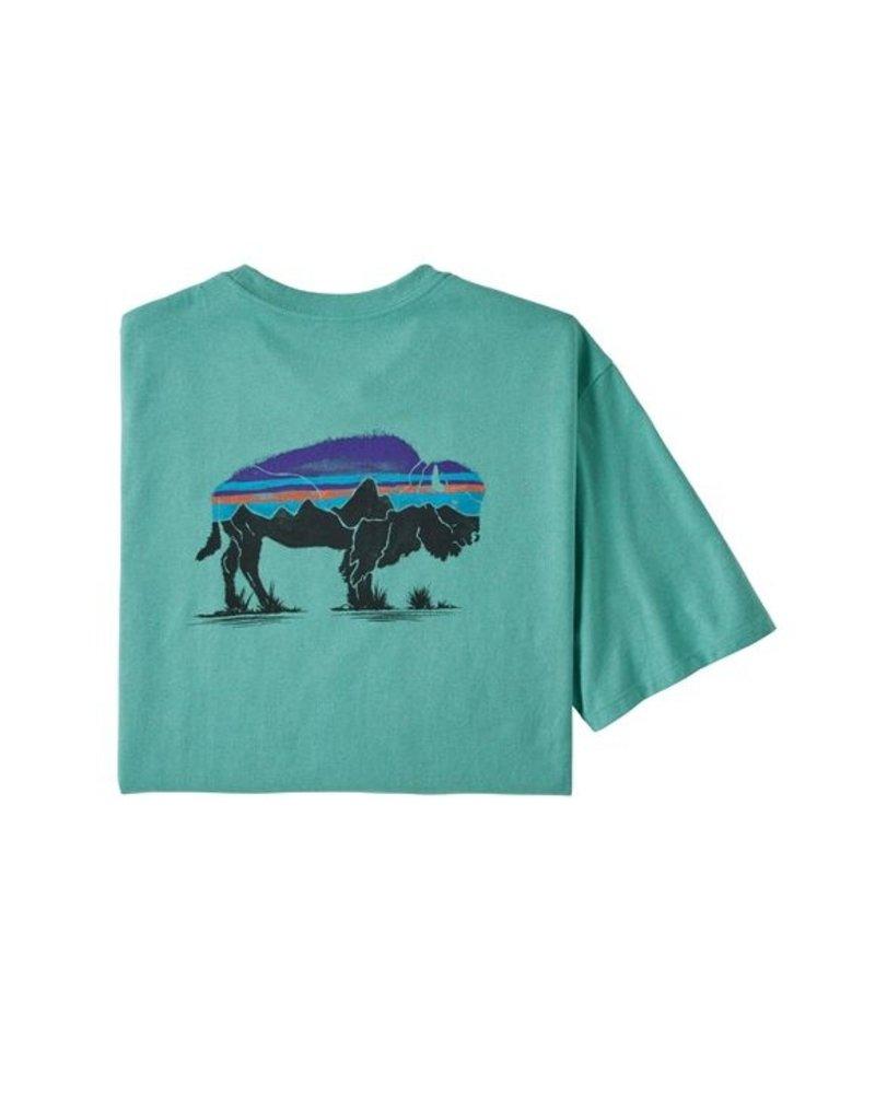 Patagonia M's Fitz Roy Bison Responsibili-Tee