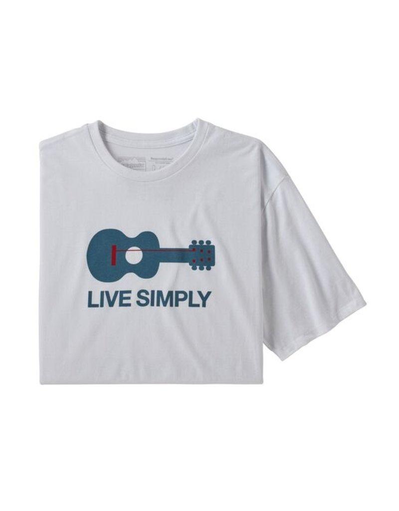 Patagonia M's Live Simply Guitar Responsibili-Tee