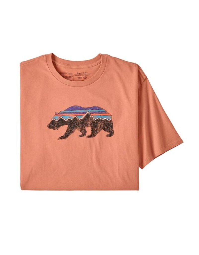 Patagonia M's Fitz Roy Bear Organic T-Shirt (S20)