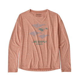 Patagonia Girls' L/S Cap Cool Daily T-Shirt